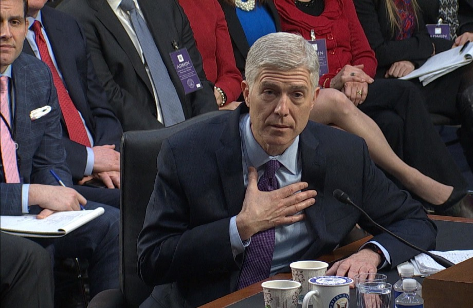 Gorsuch Calls Any Critique of Federal Judge 'Disheartening' and 'Demoralizing'