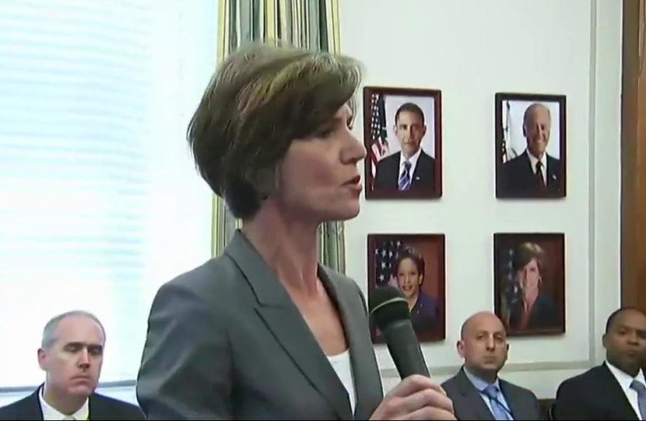 Fmr. Obama official Sally Yates to testify in House Russia probe