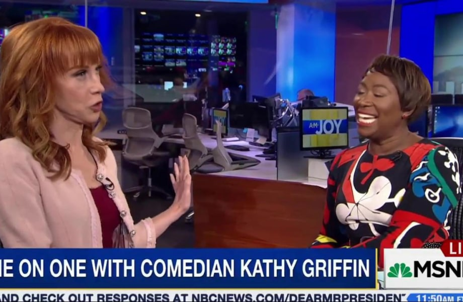 Kathy Griffin on FOX: 'Old people like people who shout'