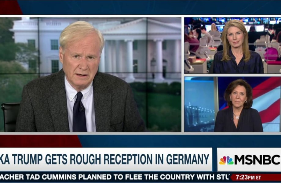 Matthews on Ivanka's WH role: 'Its un-American'