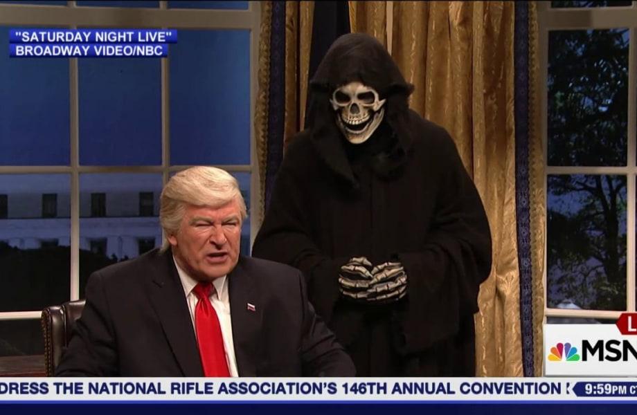 100 Days of Trump = 100 Days of Late Night Jokes