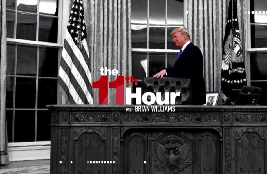 Trump serves up red meat to the base just hours from Day 100