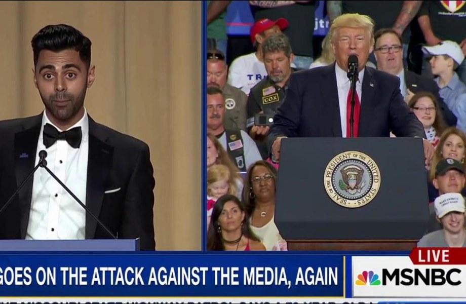 Trump skips WHCD roast for PA pep rally