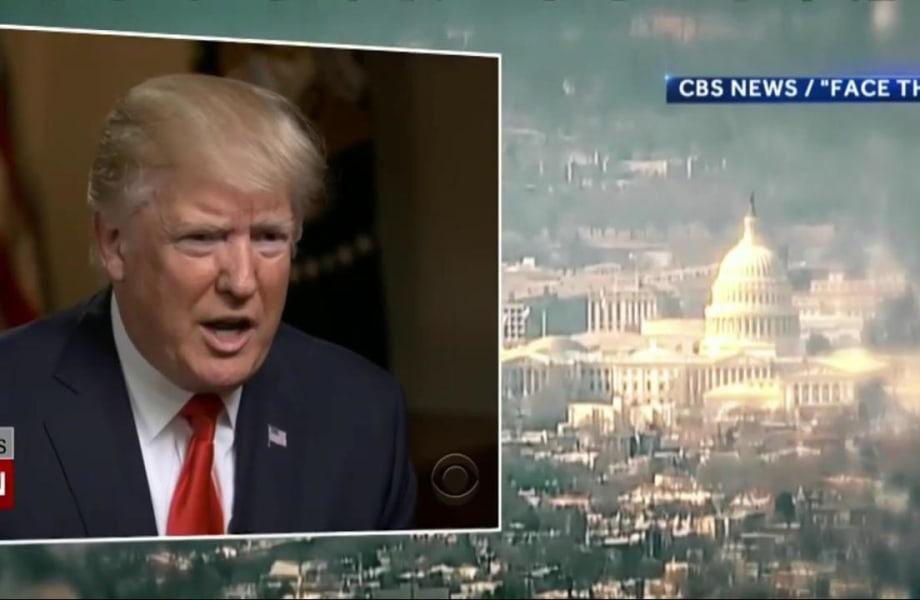 In Combative Interviews, Pres. Trump Vows to Reset Presidency