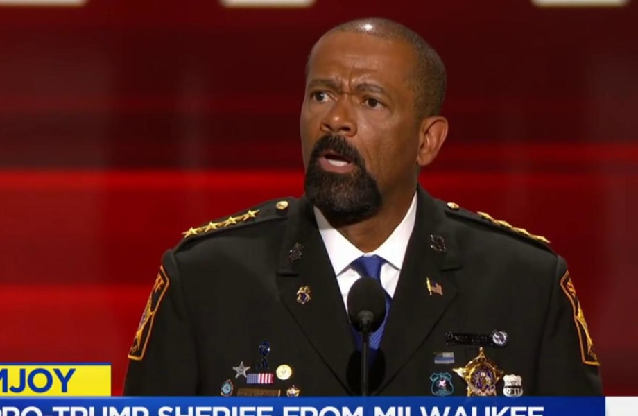Sheriff Clarke: A 'fraud' with fake medals?