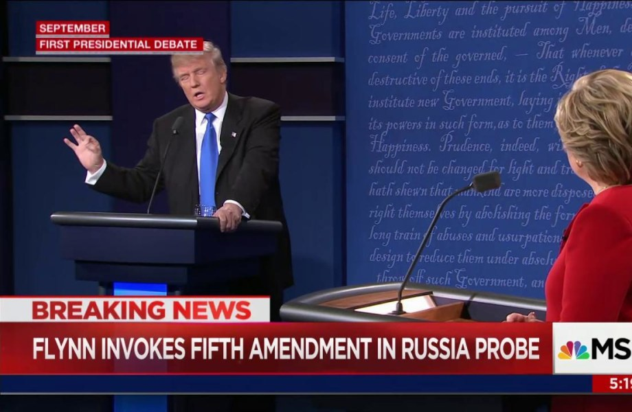 Five Times Trump Has Bashed Pleading the Fifth