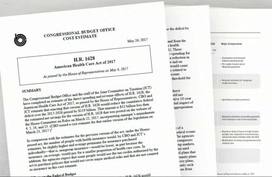 Health Care Deep Dive: CBO's New Score & White House 'Funny Math'