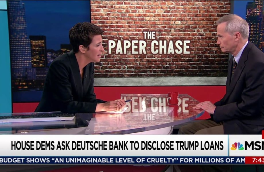 Trump loans, Russian crimes probed in query