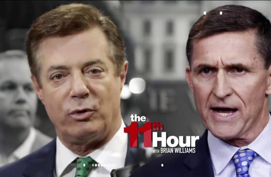 W.H. mum on report Russia discussed influencing Flynn & Manafort