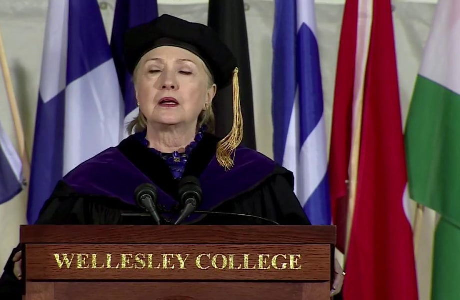 Hillary Clinton: Authoritarian regimes attempt to control reality