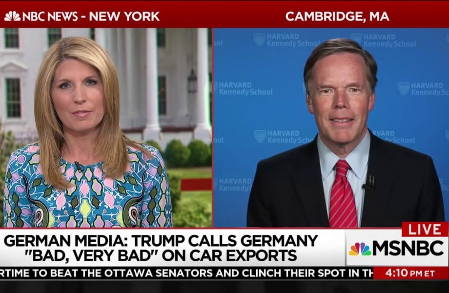 Fmr. U.S. Ambassador to NATO: Trump's visit the 'worst' in decades