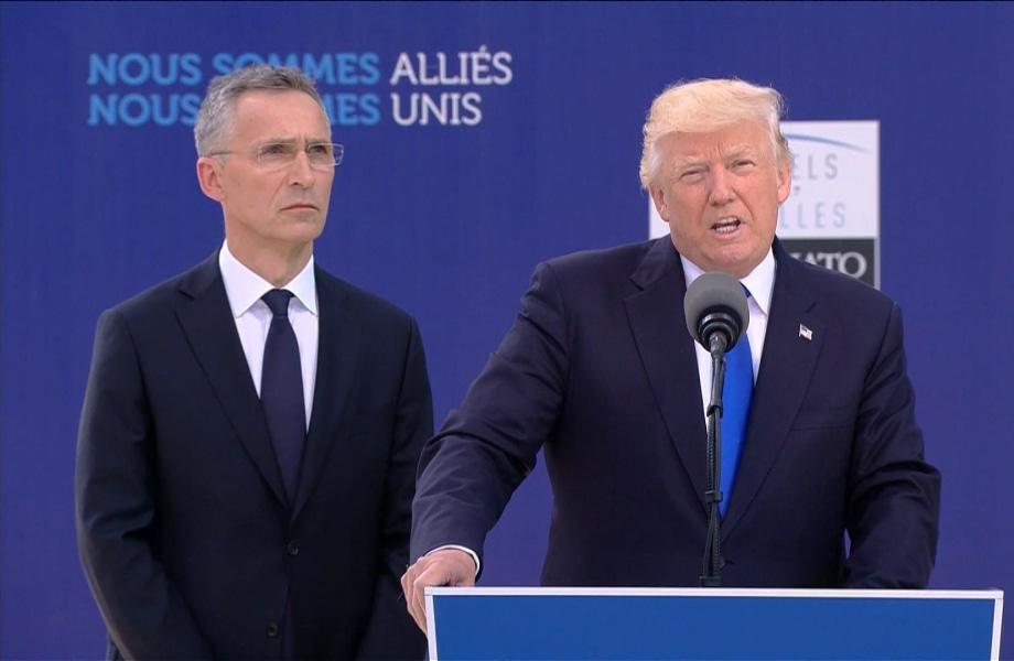 Trump Slams NATO Allies: 23 of 28 Nations 'Still Not Paying' Fair Share