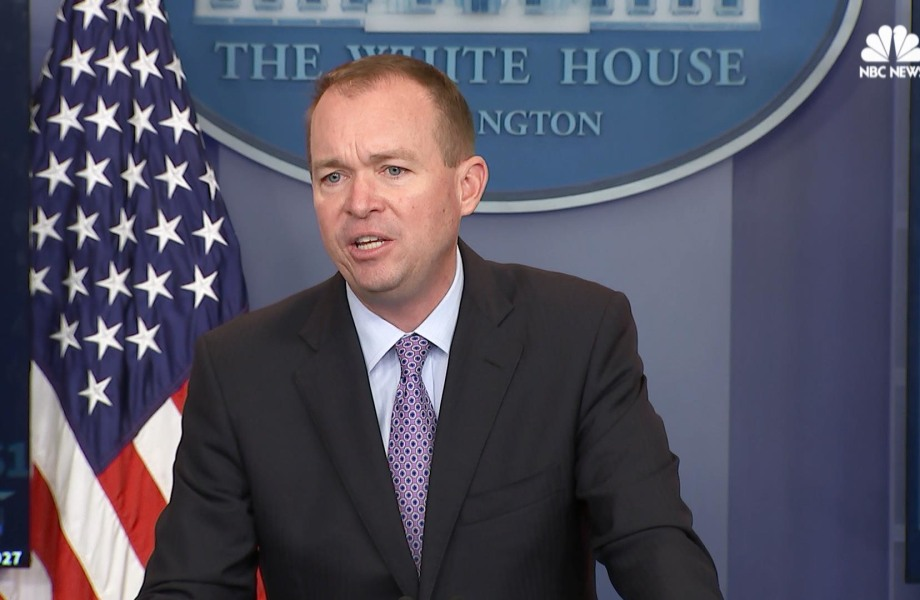 Mulvaney on Trump's Budget Plan: It is a 'Taxpayer First Budget'