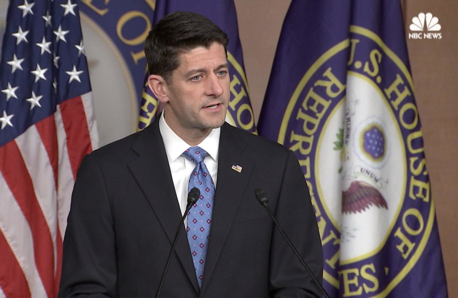 Ryan: Gianforte Should Apologize for Assault on Reporter
