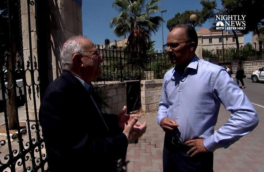 Can Pres. Trump Help Broker Israeli-Palestinian Peace? Palestinian Historian is Not So Sure