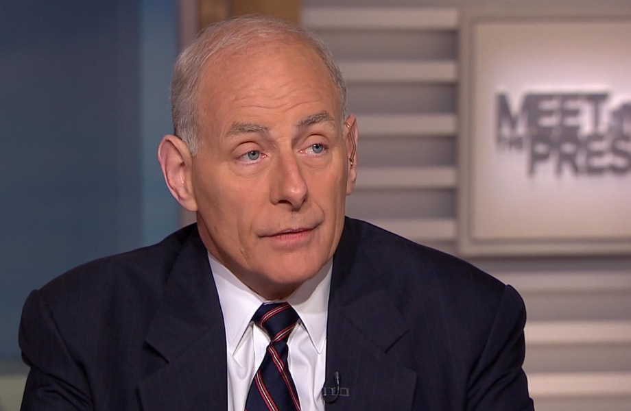 'Close to Treason' DHS Sec. Kelly Calls Out Intel Leaks