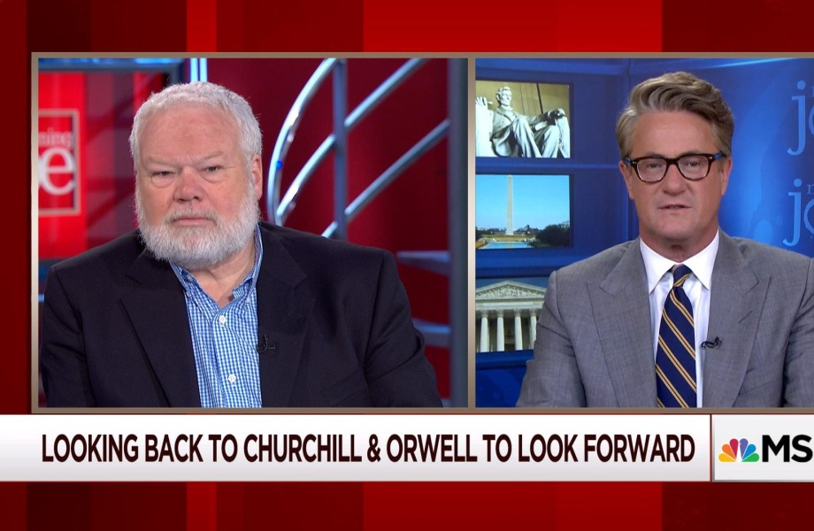 Lessons of Churchill & Orwell on today's politics