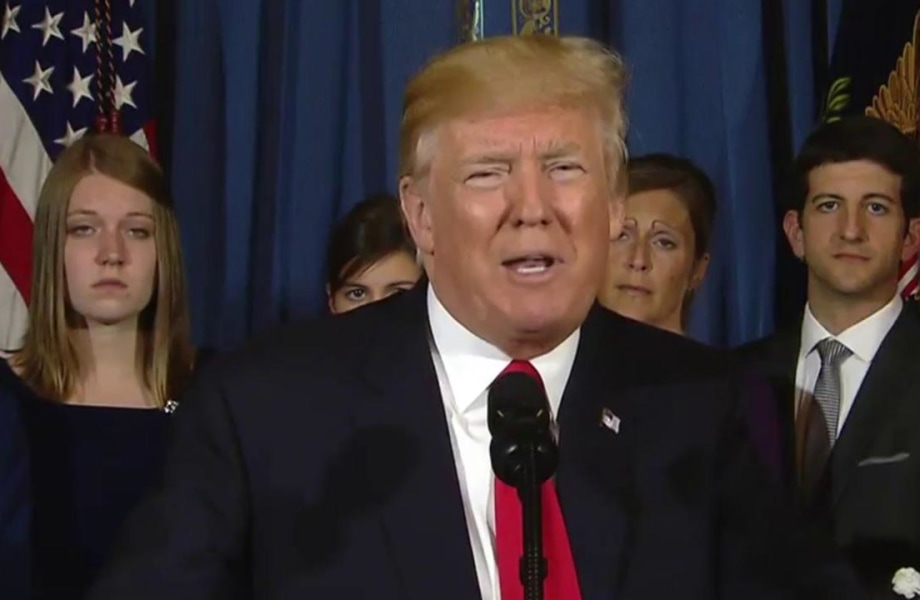President Trump on Obamacare: Republicans Close to Passing Replacement