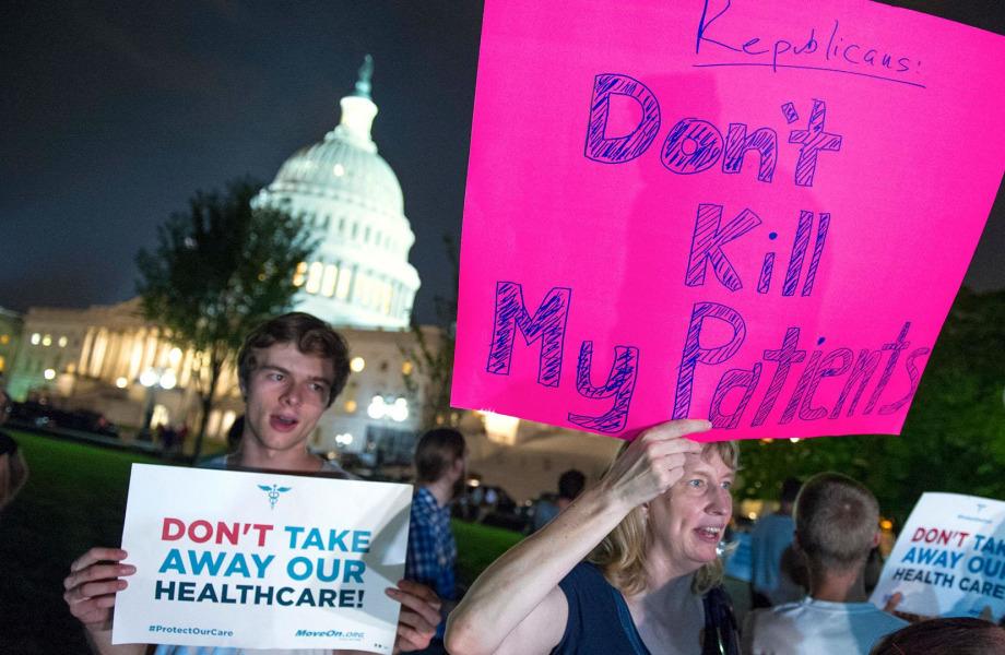 Obamacare Supporters Jubilant at the Failure of Senate Repeal Vote