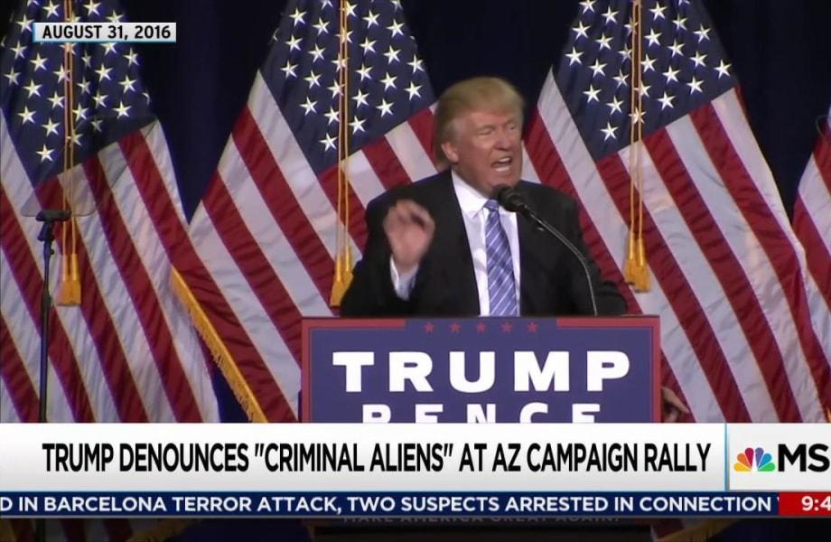 Trump behavior no surprise given campaign
