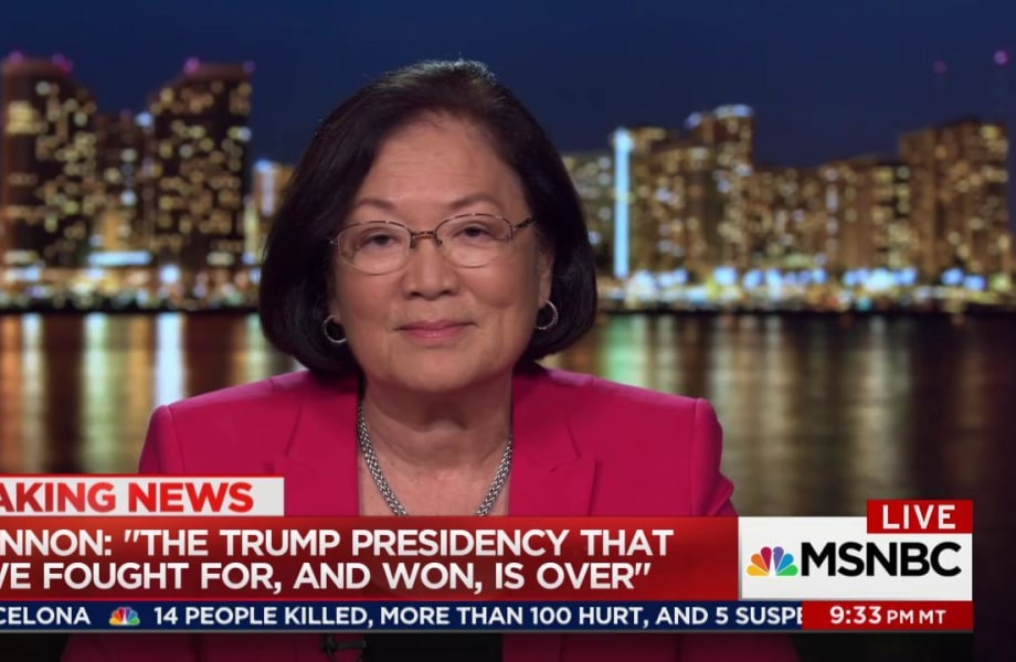 Sen. Hirono on Bannon's ouster: Trump is the problem
