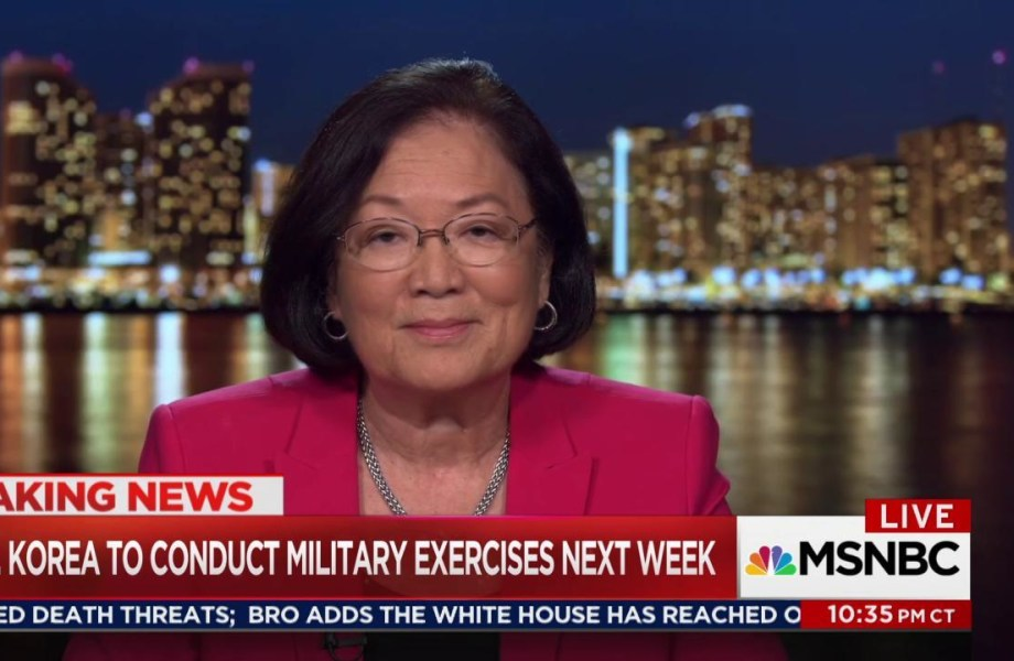 Sen. Hirono on Trump & North Korea: Hawaii is not panicking
