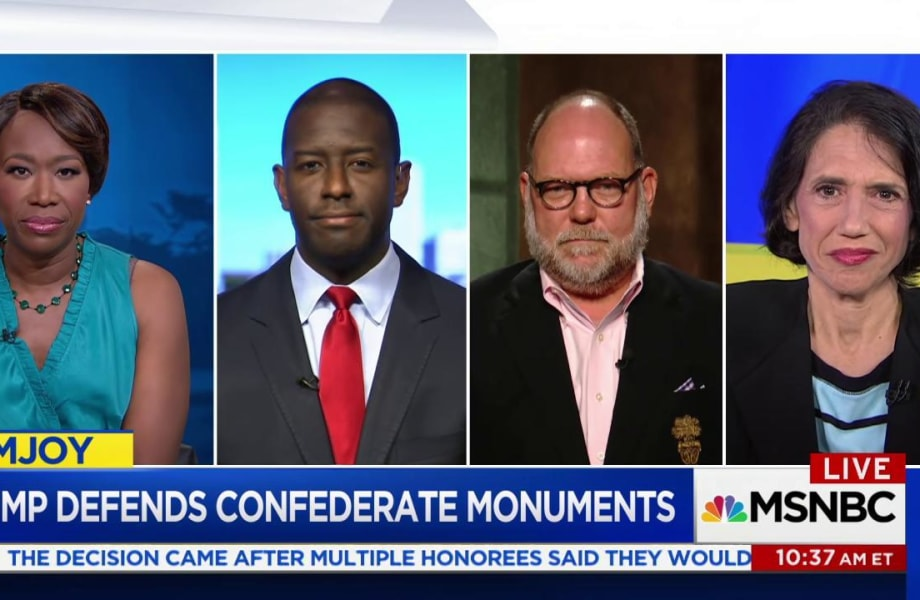 Outcry after Trump defends Confederate monuments