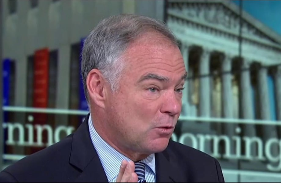 Tim Kaine offers ideas on statues worth building