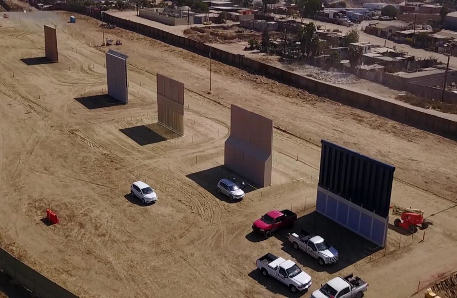 See How Trump's Border Wall Prototypes Are Taking Shape