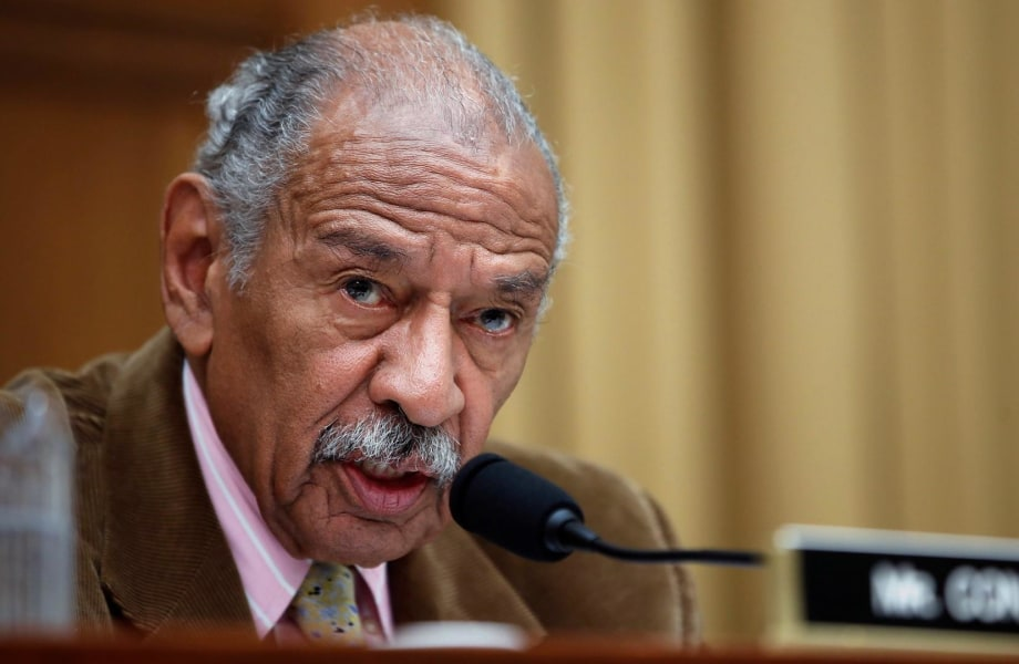 Rep. Conyers denies settling harassment complaints with staff