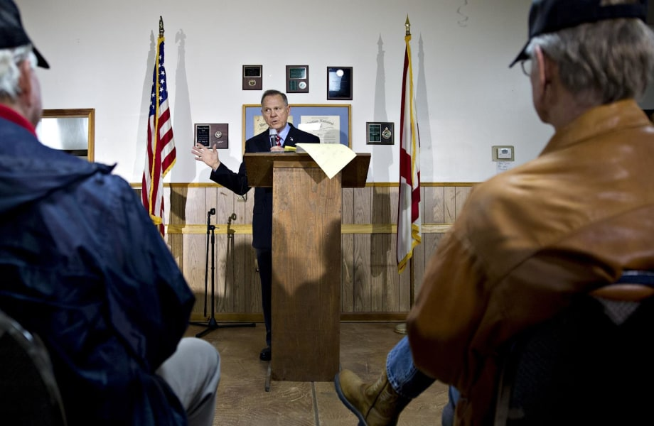 Roy Moore is a triumph of America's tribal instincts