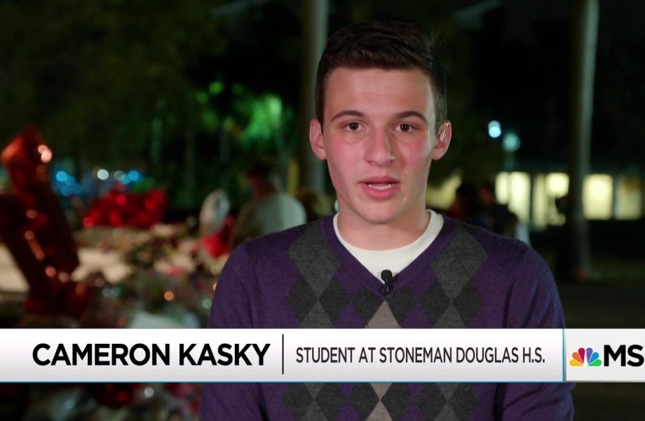 Students react to gun massacre with swell of #NeverAgain activism