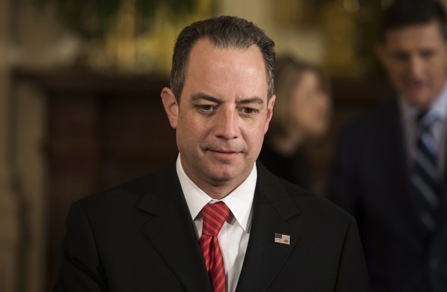 Trump Aide Reince Priebus Asked FBI to Knock Down Russia Stories