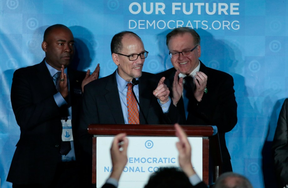 New DNC Chief Tom Perez Faces Divided Party, and Trump