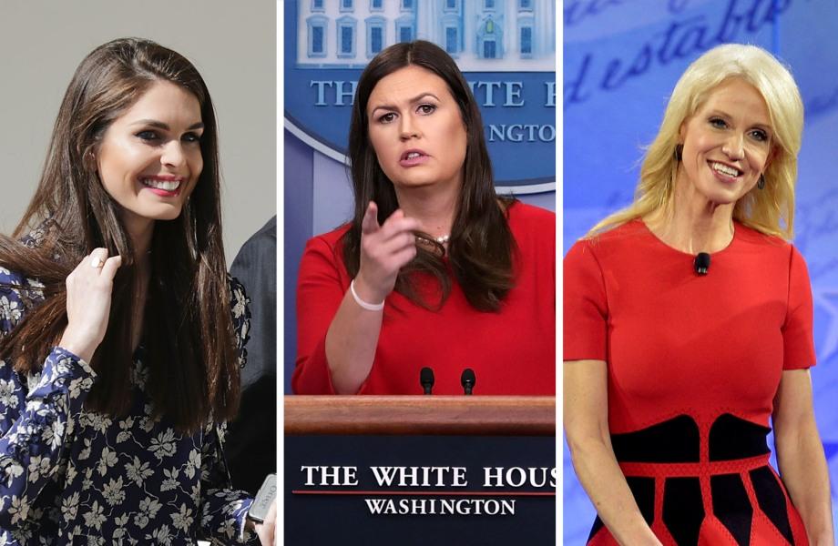 The White House Women Who've Got Trump's Back