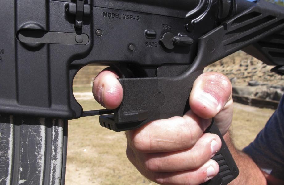 Trump moves to ban rapid-fire gun 'bump stocks'
