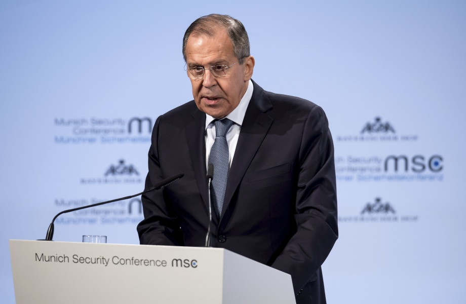 Russia's Lavrov calls FBI indictments 'just blabber'