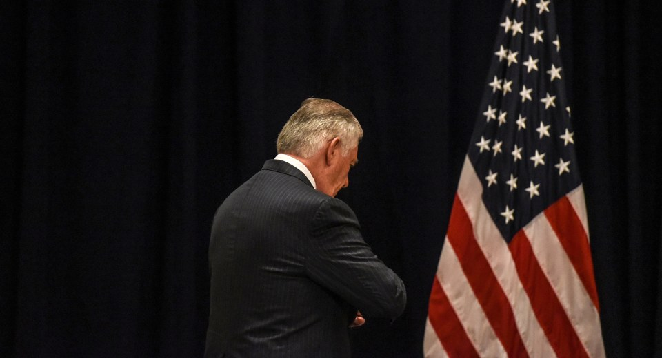 Tillerson's State Department Is Adrift, Say Diplomats