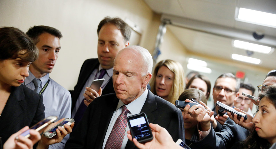 McCain Comes Out Against GOP Health Care Bill