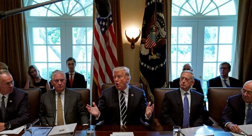Trump Says He Understands Bannon's War on GOP Establishment