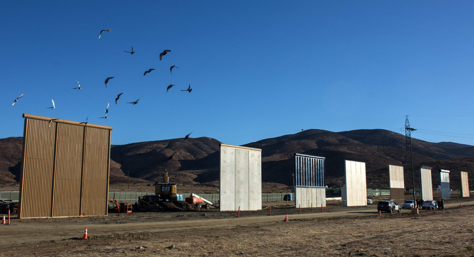 See All 8 Prototypes for Trump's 'Big, Beautiful' Border Wall