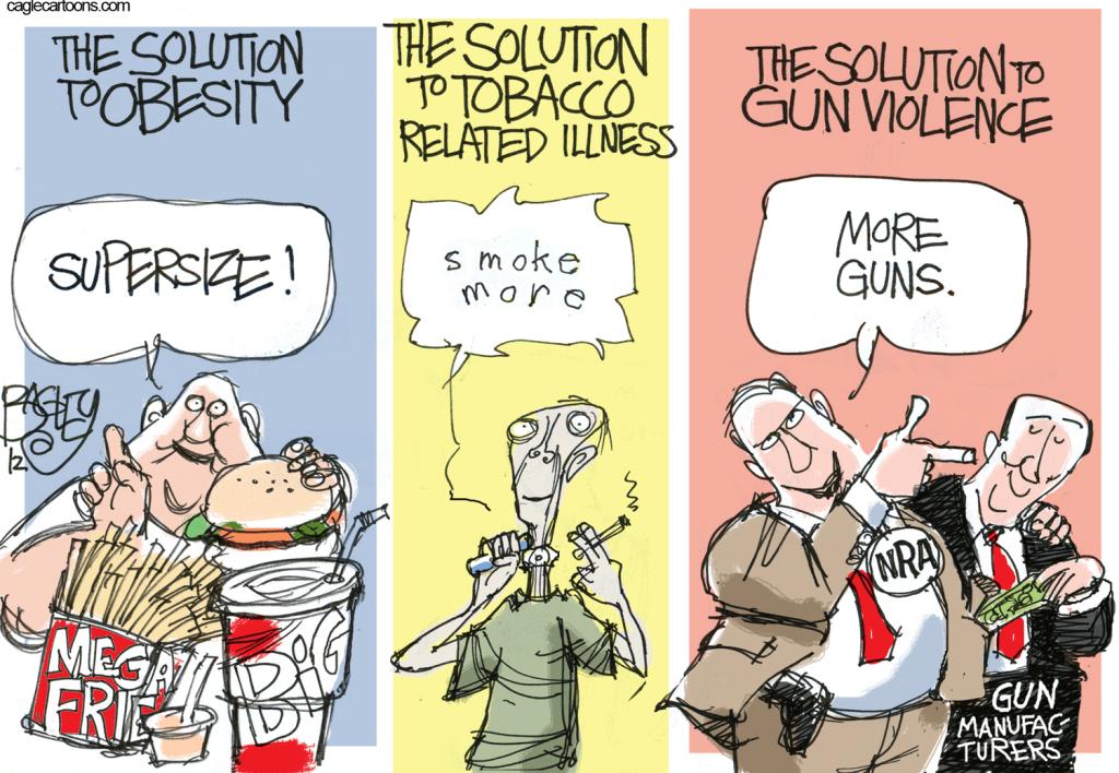persuasive speech against gun control