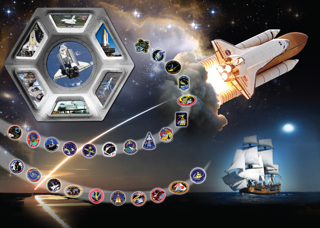 endeavour space shuttle names - photo #32