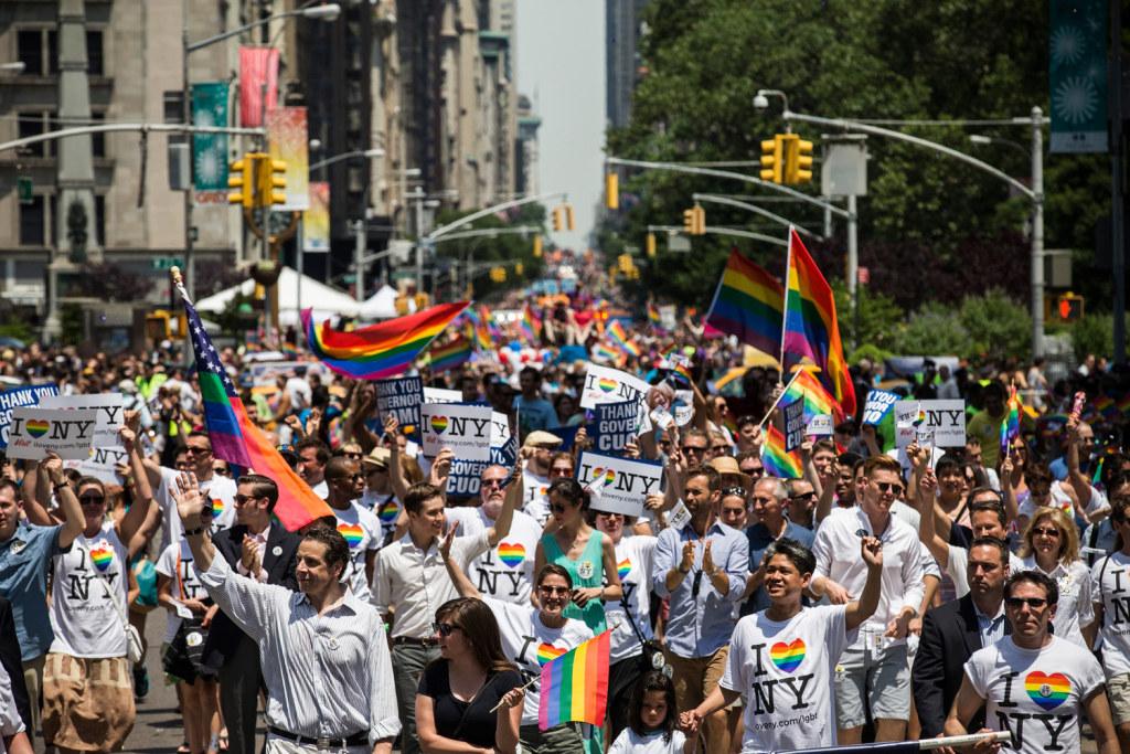 Gay pride pier dance new york