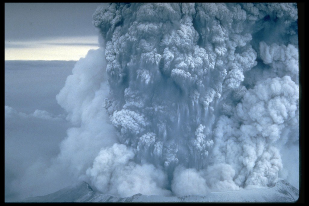 Mt. st. helens eruption carbon dating