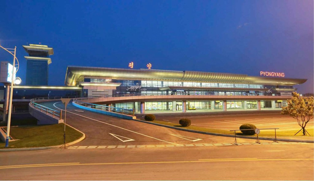 Kim Jong Un Tours New, Extravagant North Korean Airport Terminal