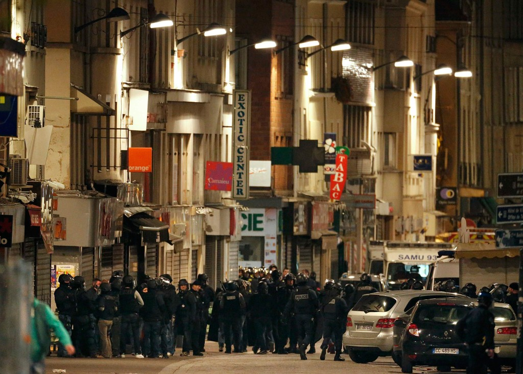 Photos: Gunfire Erupts in Police Operation Near Paris