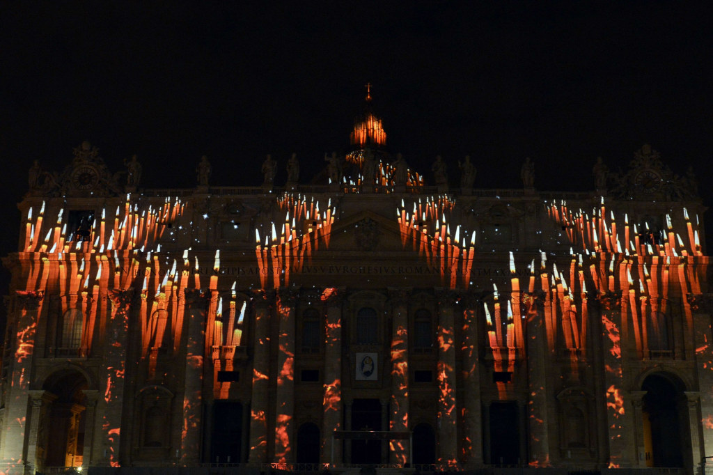 Projections At Vatican Promote Climate Awareness