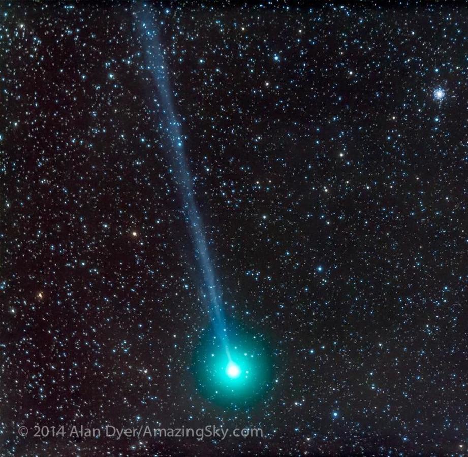 Image: Comet Lovejoy (C/2014 Q2)