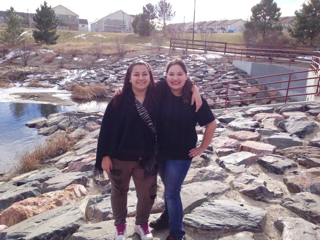 Image: Jacklyn Lucero (right), 17, and her sister, Jordan Lucero, 13.